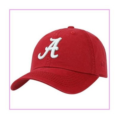 Top of the World Alabama Crimson Tide Men's Relaxed Fit Adjustable Hat Team Color Primary Icon, Adjustable【並行輸入品】