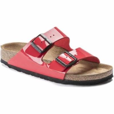ビルケンシュトック Birkenstock USA レディース サンダル・ミュール シューズ・靴 Birkenstock Arizona Sandal Cherry Patent/Birko Flo