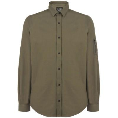 THE KOOPLES SPORT シャツ ミリタリーグリーン XL コットン 100% シャツ