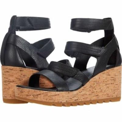 ソレル SOREL レディース サンダル・ミュール ウェッジソール シューズ・靴 Cameron(TM) Multi Strap Wedge Black