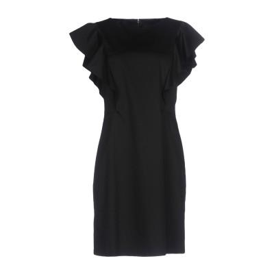 アルベルタ フェレッティ ALBERTA FERRETTI ミニワンピース&ドレス ブラック 40 コットン 97% / 指定外繊維 3% ミニワン