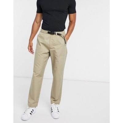 リーバイス Levi's メンズ ボトムス・パンツ Stay Loose Climber hiker trousers tab belt in beige ベージュ