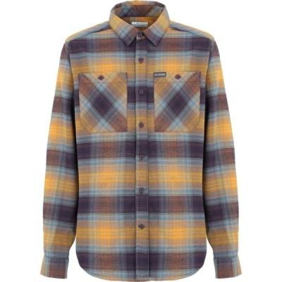 コロンビア COLUMBIA メンズ シャツ トップス outdoor elm strch flanne patterned shirt Ocher