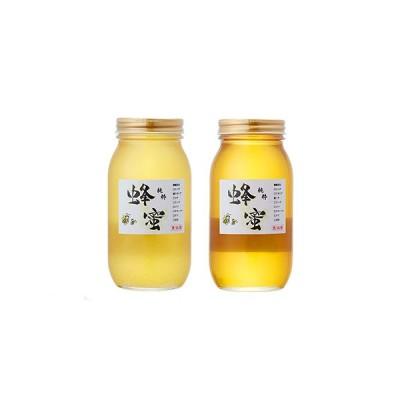 ふるさと納税 RT198 気仙養蜂の国産純粋蜂蜜1kg×2個セット(アカシア・トチ) 岩手県陸前高田市