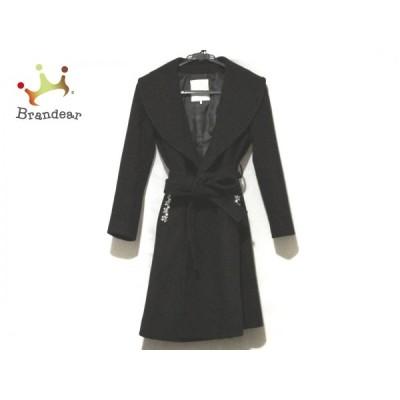 チェスティ Chesty コート サイズ0 XS レディース - 黒 長袖/ビジュー/パール/冬 新着 20201129