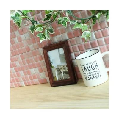 モザイクタイルステッカー ハルちゃん プチコレ 25×25mm角(15×15cmシート) ピンク