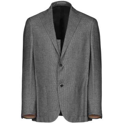NINO DANIELI テーラードジャケット ブラック 50 レーヨン 100% テーラードジャケット