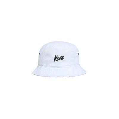 モブ MOBB OGロゴ ハット メンズ ユニセックス M-L ホワイト OG LOGO BUCKET HAT -WHITE-