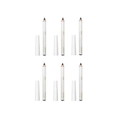 資生堂 眉墨鉛筆 ブラック 6本セット