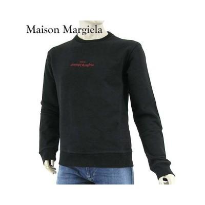 メゾンマルジェラ/Maison Margiela メンズ スウェットシャツ S50GU0166 S25503/ブラック/900/21ss