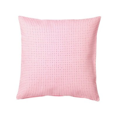 YPPERLIG クッションカバー, ピンク, 水玉模様 203.468.40