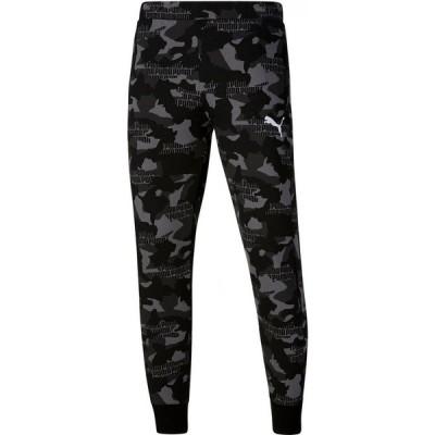 プーマ Puma メンズ ボトムス・パンツ Camo Fleece Pants Puma Black
