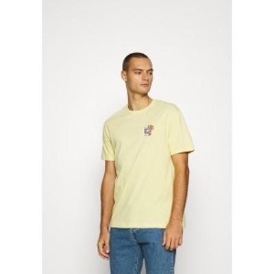 ユアターン メンズ Tシャツ トップス Print T-shirt - yellow yellow