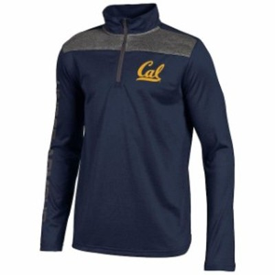 Under Armour アンダー アーマー スポーツ用品  Under Armour Cal Bears Youth Navy UAR Tech Quarter-Zip Jacket