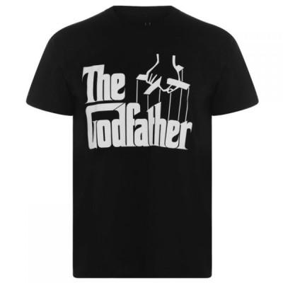 キャラクター Character メンズ Tシャツ トップス Godfather T Shirt Black