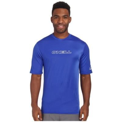 オニール O'Neill メンズ ラッシュガード Tシャツ 水着・ビーチウェア Basic Skins Rash Tee Pacific