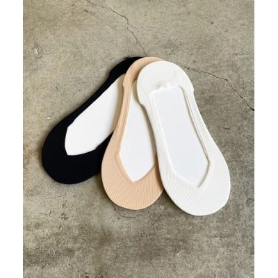 COMMON WARE / SZT:レディース ぬげにくいカバーソックス 3足セット WOMEN レッグウェア > ソックス/靴下