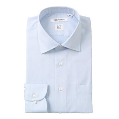 【SUPER EASY CARE】ワイドカラードレスシャツ 織柄〔EC・FIT〕