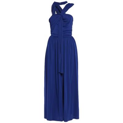 エムエスジーエム MSGM 7分丈ワンピース・ドレス ブルー 42 レーヨン 100% 7分丈ワンピース・ドレス