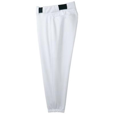 パンツ(ベルトループ型) (91スーパーホワイト)  MIZUNO ミズノ 野球 ウエア ユニフォームパンツ (52PW26791)
