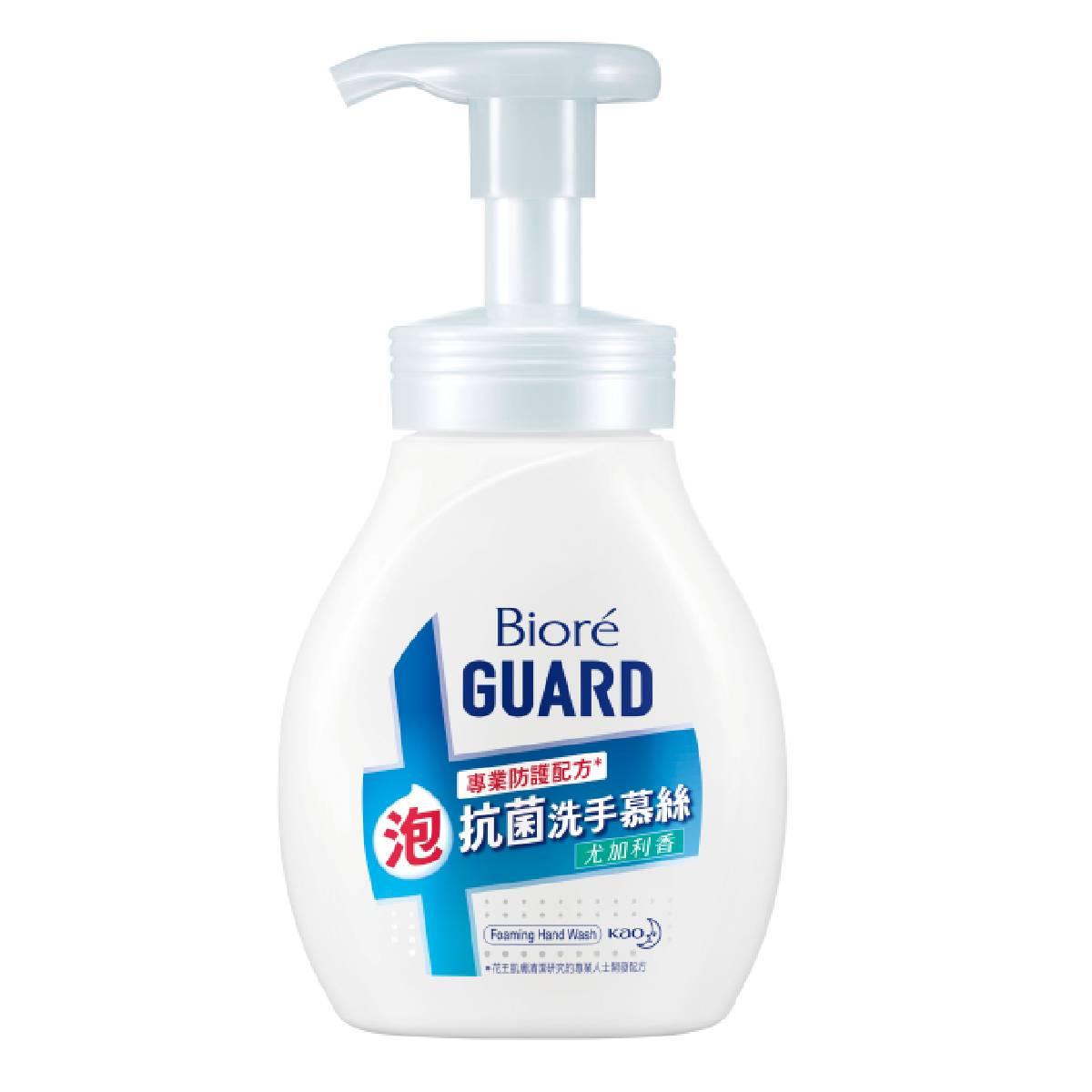 Biore蜜妮GUARD抗菌洗手慕絲尤加利香250ml