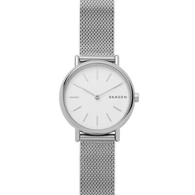 スカーゲン 腕時計 アクセサリー レディース Women's Signatur Stainless Steel Mesh Bracelet Watch 30mm No Color