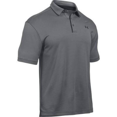 アンダーアーマー Under Armour メンズ ポロシャツ トップス Tech Polo Graphite/Black/Black