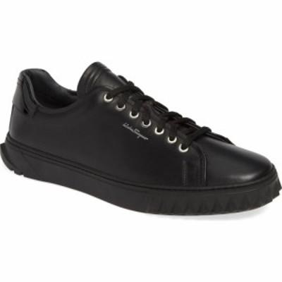 サルヴァトーレ フェラガモ SALVATORE FERRAGAMO メンズ スニーカー シューズ・靴 Cube Sneaker Nero/Black
