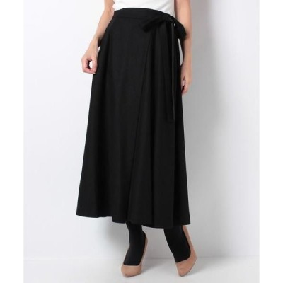 Leilian / レリアン リボン付きフレアースカート