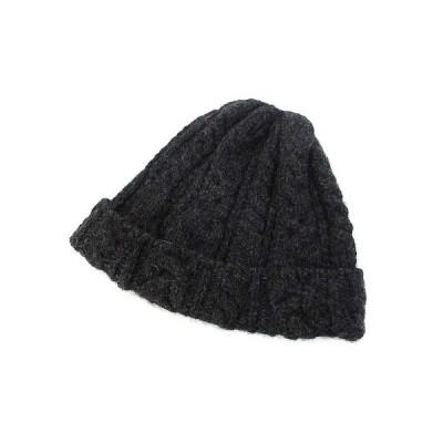 【中古】ア ノーザン ライト ハイランド2000 ニット帽 ニットキャップ 帽子 グレー ケーブル編み 美品 メンズ レディース 【ベクトル 古着】