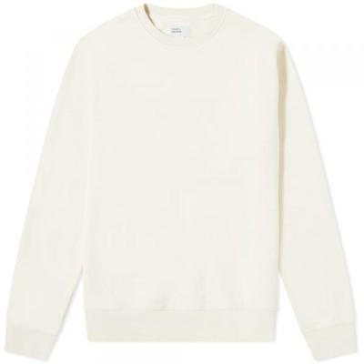 トレーナー パーカー セーター メンズColorful Standard Classic Organic Crew SweatIvory White