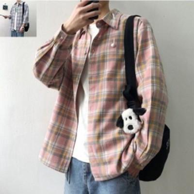 SUPER SALE★200円クーポン/ シャツ アウター メンズ シャツ ジャケット 長袖 メンズ 大きいサイズ メンズ ファッション コート カジュア