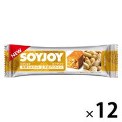 大塚製薬SOYJOY(ソイジョイ) ピーナッツ 12本 大塚製薬 栄養補助食品