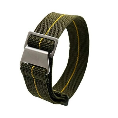 60's French troops Parachute Special Elastic Nylon Watch Band Man's Univers