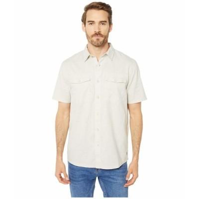 ロイヤルロビンズ シャツ トップス メンズ Seaview Hemp Short Sleeve Shirt Soapstone