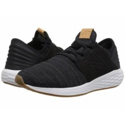 New Balance ニューバランス レディース 女性用 シューズ 靴 スニーカー 運動靴 Fresh Foam Cruz v2 Knit Black/Magnet【送料無料】