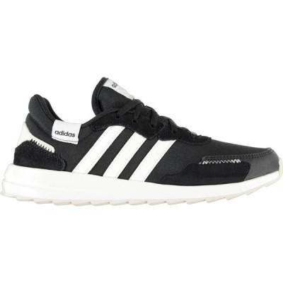 アディダス adidas レディース ランニング・ウォーキング シューズ・靴 Retrorun Trainers Black/White