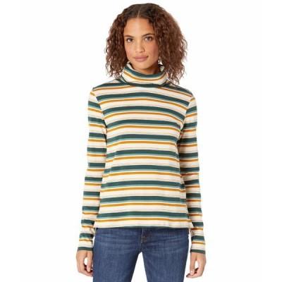 ドード アンドコー シャツ トップス レディース Maisey Long Sleeve T-Neck Pine Grove Multi Stripe