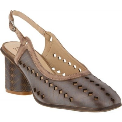 スプリングステップ L'Artiste by Spring Step レディース サンダル・ミュール シューズ・靴 Flirt Slingback Grey Leather