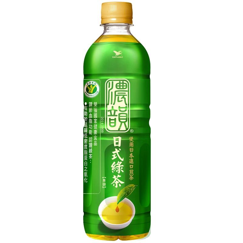 濃韻日式綠茶Pet 600ml