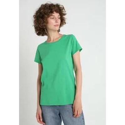 GAP レディーストップス GAP VINT CREW - Basic T-shirt - signal green si