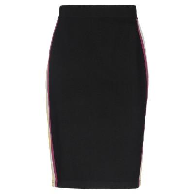 ISABEL MARANT ÉTOILE ひざ丈スカート ブラック 34 レーヨン 58% / ナイロン 23% / ポリエステル 19% ひざ丈ス