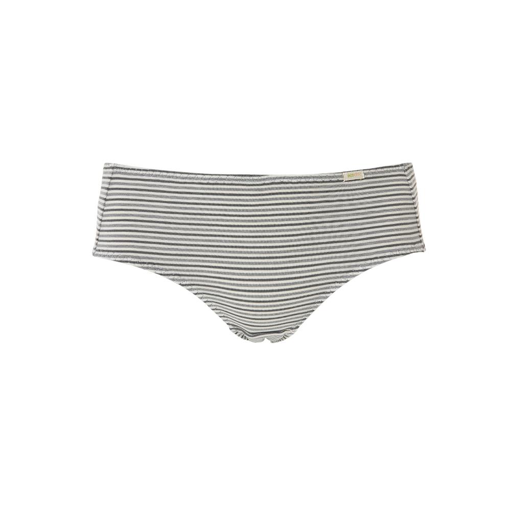 【新品優惠中】黛安芬-eco chic裸紗原棉竹炭系列生理褲 M-EL 條紋|F768120 Z9