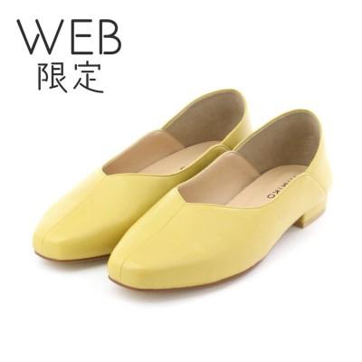 【WEB限定】ヒミコ 卑弥呼 ソフトパンプス/611151 (イエロー)