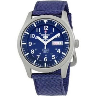 セイコー Seiko メンズ 腕時計 自動巻き 5 automatic blue dial watch snzg11j1 Blue