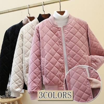 コート レディース 秋 冬 秋服 冬服 冬物 アウター 大きいサイズ 中綿入り あったか 可愛い
