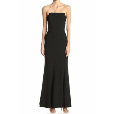 Jill Jill Stuart ジルジルスチュワート ファッション ドレス Jill Jill Stuart NEW Black Womens Size 12 Strapless Gown Dress