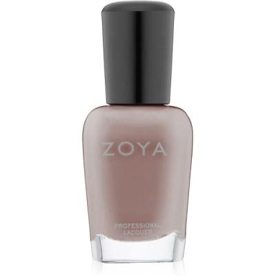 ZOYA ゾーヤ ネイルカラー ZP564 JANA ジャナー モーブがほのかに色づく、スモーキーなグレー マット 爪にやさしいネイルラッカーマニキュ