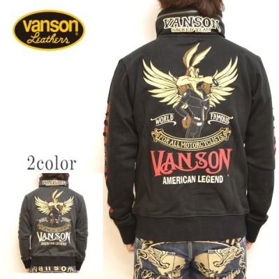 バンソン VANSON ルーニーテューンズ LTV-905 裏毛 ボリュームネック パーカー ジャケット メンズ