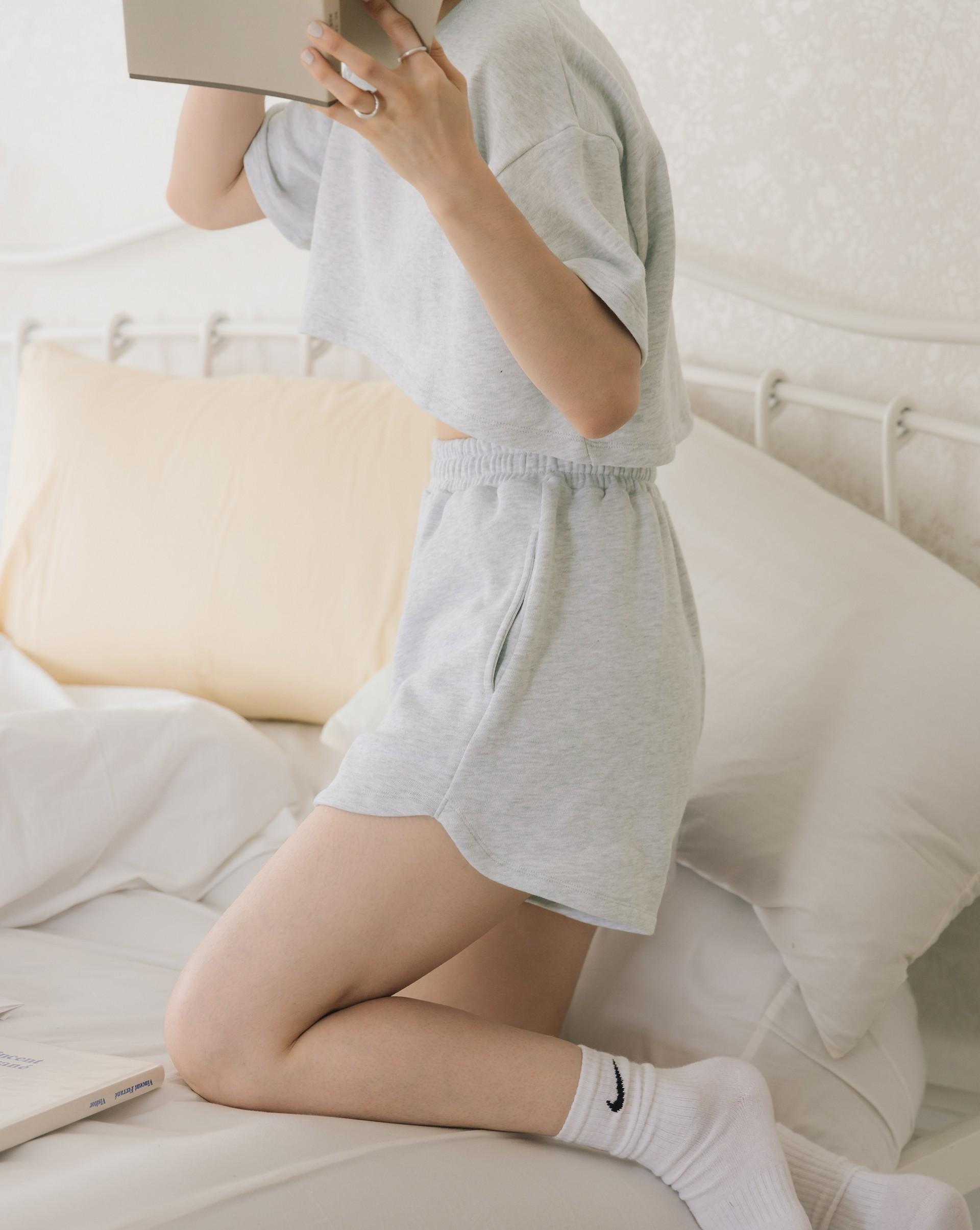 PROJECT.M 休閒日常抽繩短褲(mmm0726)-Meierq